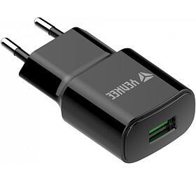 YAC 2023BK USB Nabíječka QC3.0 Yenkee