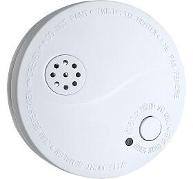 Solight detektor kouře +alarm, 85dB, bílý +9V baterie