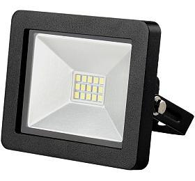 Solight LED venkovní reflektor SLIM, 10W, 700lm, 3000K, černý
