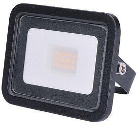 Solight LED venkovní reflektor Eco, 10W, 650lm, 4000K, černý