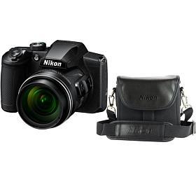 NIKON COOLPIX B600 BLACK + POUZDRO