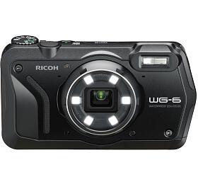 Ricoh WG-6 Black, 20MP, 5xzoom 28-140mm -outdoor fotoaparát
