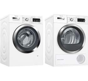 Bosch WAW326H0EU iDOS +Sušička prádla Bosch WTW855H0BY