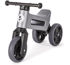 Funny Wheels Teddies Sport 2v1 šedé