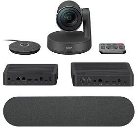 Logitech Rally Ultra-HD ConferenceCam, 1mic, 1repro -BLACK -EMEA