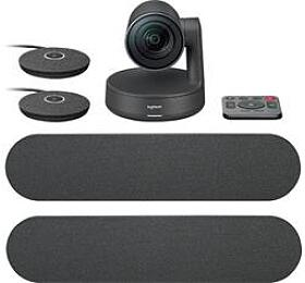 Logitech Rally Ultra-HD ConferenceCam, 2mic, 2repro -BLACK -EMEA