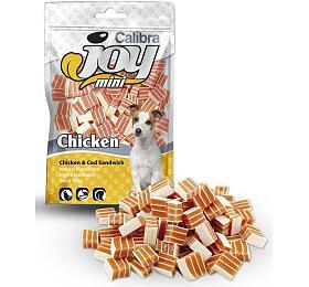 Calibra Joy Dog Mini Chicken &Cod Sandwich 70g NEW