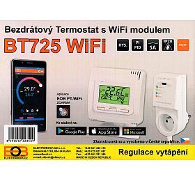 ELEKTROBOCK Termostat bezdrátový digitální prostorový sWIFI modulem BT725 WIFI Elektrobock