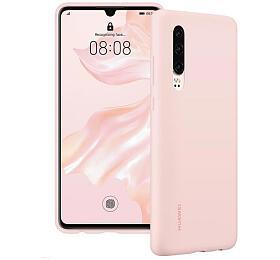 HUAWEI Silikonový kryt pro P30 Pink