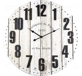 Designové nástěnné hodiny 21482 Lowell 60cm