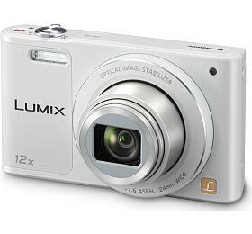 Panasonic DMC-SZ10EP-W, 16Mpx, 12x zoom 24mm, OIS, HD, WiFi, bílá