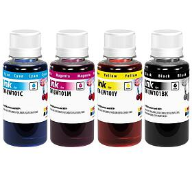 COLORWAY alternativní inkoustová náplň pro EPSON /C13T664x4A/ L100/ L110/ L200/ L210/ L355/ L550/ 4x100ml/ CMYK