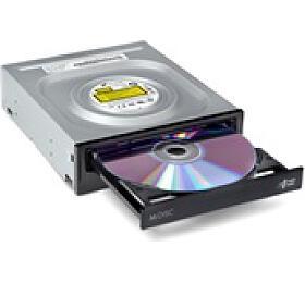 LG -interní mechanika DVD-W/CD-RW/DVD±R/±RW/RAM/M-DISC GH24NSD5, 24x SATA, Black, bulk bez SW