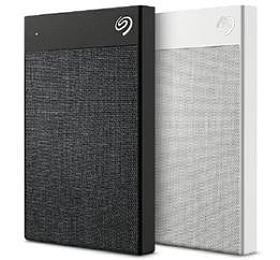 "Seagate ® Backup Plus Ultra Touch 2,5"" - 2TB / USB-C / HW encrypt. / BLACK"