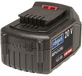 Scheppach ABP4.0-20Li, 20V lithium iontová baterie 4Ah