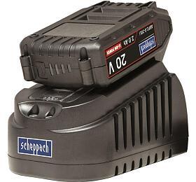 Scheppach ABP2.0-20Li KIT A,20 Vset nabíječky 1,65 Aa baterie 2Ah