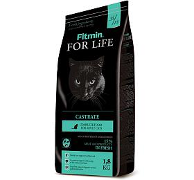 Fitmin cat For Life Castrate - 1,8 kg