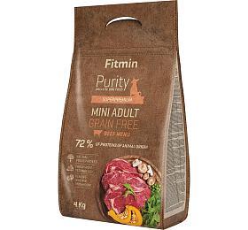 Fitmin dog Purity GFAdult Mini Beef -4 kg