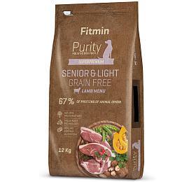 Fitmin dog Purity GFSenior&Light Lamb -12 kg