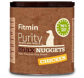 Fitmin dog Purity Snax NUGGETS chicken 180g