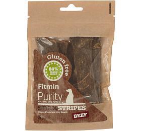 Fitmin dog Purity Snax STRIPES beef 5ks