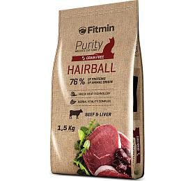 Fitmin cat Purity Hairball -1,5 kg