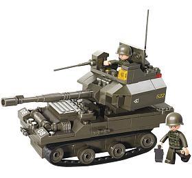 SLUBAN stavebnice Tank T-90, 171 dílků