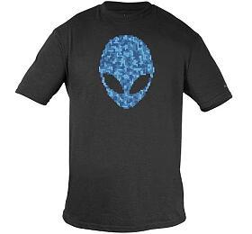 DELL Alienware Alien Puzzle Head T-Shirt - L/ tričko