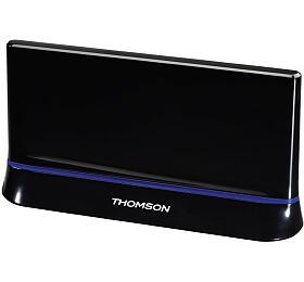 THOMSON aktivní DVB-T/T2 pokojová anténa ANT1487/ DAB/DAB+/ 43 dB/ LTE filtr/ 470 - 862 MHz/ černá