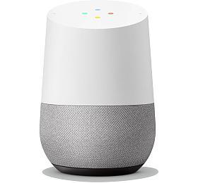 Google hlasový asistent Home EU/UK/ Google Assistant/ Wi-Fi/ Bluetooth/ čeština/ bílý