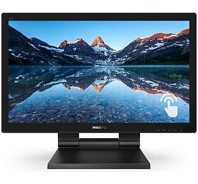 """Philips LCD 222B9T/00 21,5"""" 16:9 TNTouch/1920x1080@60Hz/50M:1/1ms/250 cd/m2/D-Sub/DVI/HDMI/DP/2xUSB 3.1/Repro"""