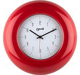 Designové nástěnné hodiny 03300R Lowell 33cm