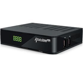 AMIKO DVB-T2/C přijímač Impulse, HEVC