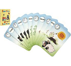 Černý Petr Krtek 4-společenská hra -karty vpapírové krabičce 6x9cm