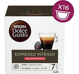 NESCAFÉ® Dolce Gusto® Espresso Intenso Decaffeinato kávové kapsle 16ks
