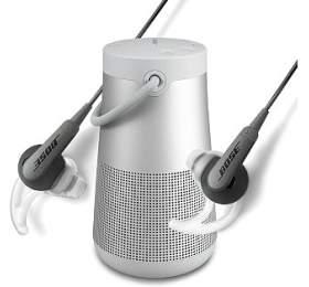 BOSE SoundLink Revolve+, šedý + BOSE SoundSport IE sluchátka pro Apple, černá