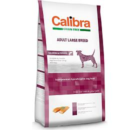 Calibra Dog GF Adult Large Breed Salmon 12kg