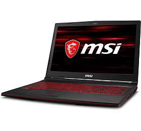 "MSI GL63 8SD-464CZ /i7-8750H Coffeelake/16GB/256SSD +1TB HDD/GTX 1660 Ti, 6GB/15.6"" FHD 120Hz/Win10"