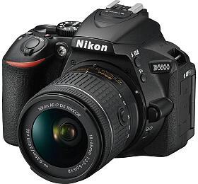 NIKON D5600 Black +18-55 VRAF-P +70-300 VR