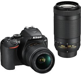 NIKON D3500 Black +18-55 VRAF-P +70-300 VR