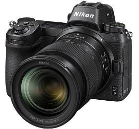 Nikon Z6 + adaptér na bajonet F + 24-70mm f/4 S- systémový fotoaparát