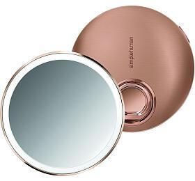 Simplehuman Sensor Compact, LED osvětlení, AKU, 3x, rose gold