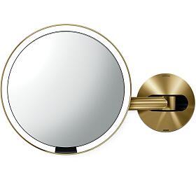 Simplehuman Sensor, LED osvětlení, 5x, dobíjecí, Brass steel