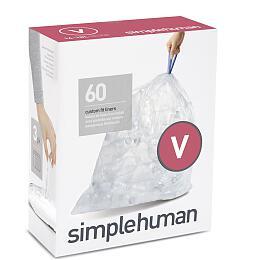 Simplehuman typ Vzatahovací, 3x 20ks CP