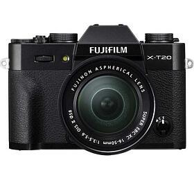 Fujifilm X-T20 + XC 16-50 - Black