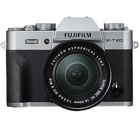 Fujifilm X-T20 + XC 16-50 - Silver