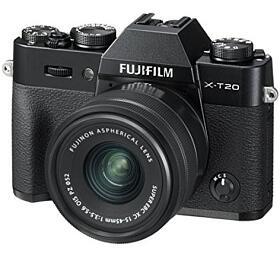 Fujifilm X-T20 + XC15-45- Black