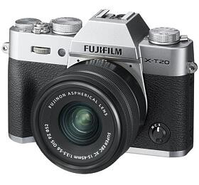 Fujifilm X-T20 +XC15-45 -Silver