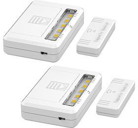 Solight LED světélka doskříní, komod azásuvek, 40lm ,2x AAA, 2ks vbalení