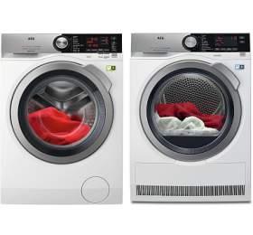 AEG ÖKOMix® L8FBC69SCA + Sušička prádla AEG AbsoluteCare® T8DEC68SC